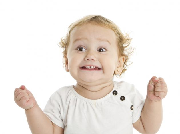 excited child